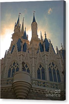 Magic Kingdom - Cinderella Castle Canvas Print