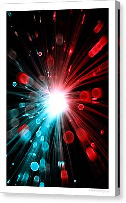 Magic Lights Canvas Print
