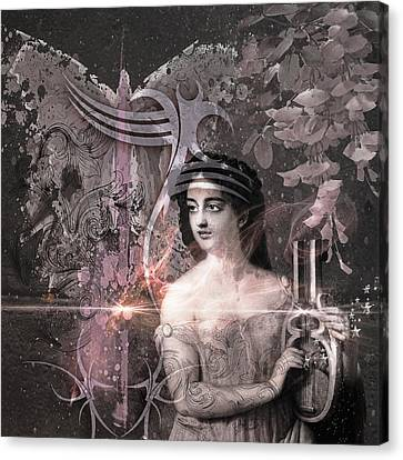 Magic Lute Canvas Print by Rosemary Smith