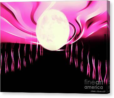 Magic Moon Canvas Print by Eddie Eastwood