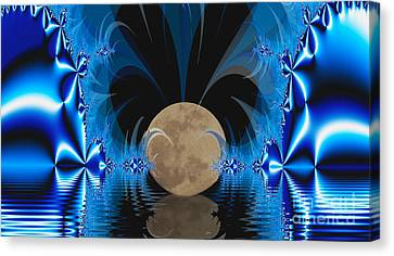Magic Moon Canvas Print