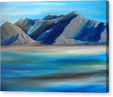 Magic Mountains Canvas Print by Ramneek Narang