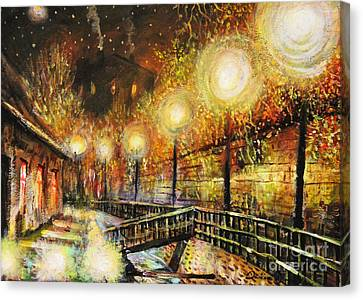 Magic Night Canvas Print