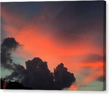 Canvas Print featuring the photograph Late Day On Paros Island  by Colette V Hera  Guggenheim