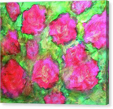 Magic Roses Canvas Print