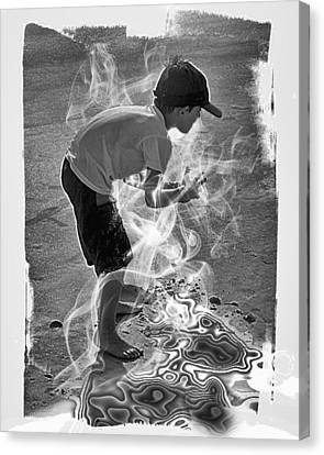 Magic Sand Canvas Print