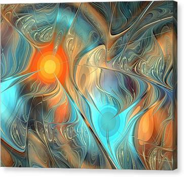 Magic Source Canvas Print by Anastasiya Malakhova