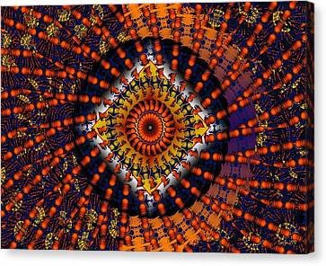 Psychadelic Canvas Print - Magic Tricks by Robert Orinski