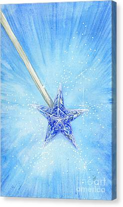 Canvas Print featuring the painting Magic Wand by Cindy Garber Iverson