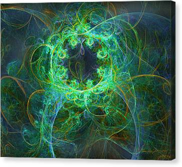 Magic Canvas Print by William Wright