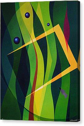 Magical Composition Canvas Print by Alberto D-Assumpcao