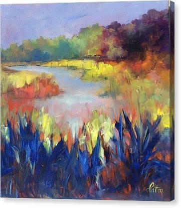 Magical Marsh Canvas Print