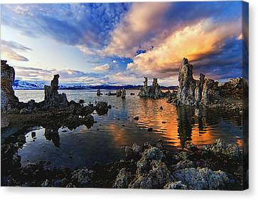 Magical Mono Lake Canvas Print by Andrew J. Lee