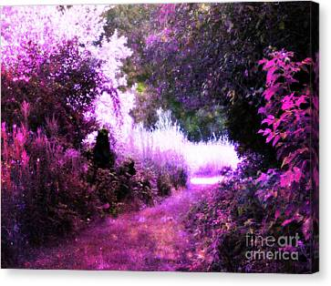 Magical Pink Path Canvas Print by Johari Smith