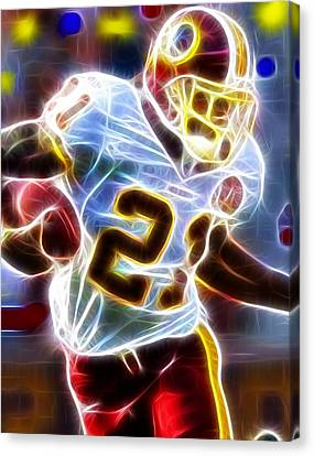 Player Canvas Print - Magical Sean Taylor by Paul Van Scott