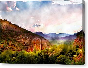 Magical Sedona Canvas Print