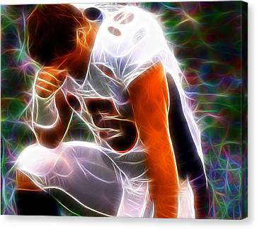 Magical Tebowing Canvas Print