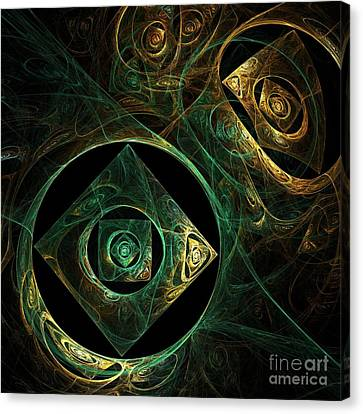 Magical Vibrations Canvas Print by Oni H