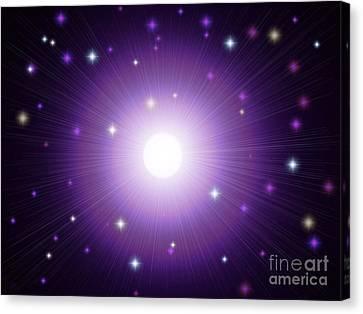 Magickal Moon Canvas Print