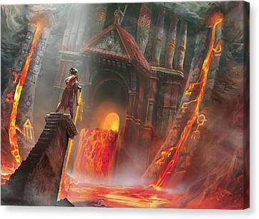 Magmatic Insight Canvas Print