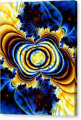 Magnetic Marvel Canvas Print by Lauren Goia