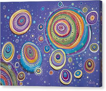 Magnetic Canvas Print by Tanielle Childers