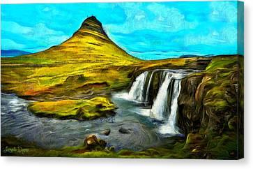 Magnific Nature - Da Canvas Print by Leonardo Digenio