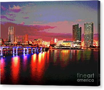 Magnificent Miami Sunrise Canvas Print