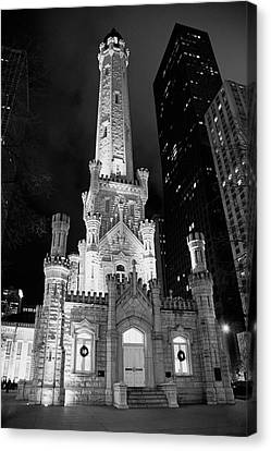 Magnificent Mile Old Water Tower - Chicago Canvas Print