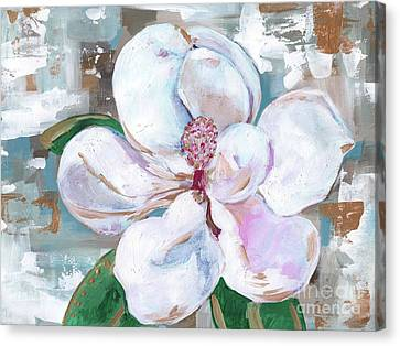 Magnolia Canvas Print by Anne Seay