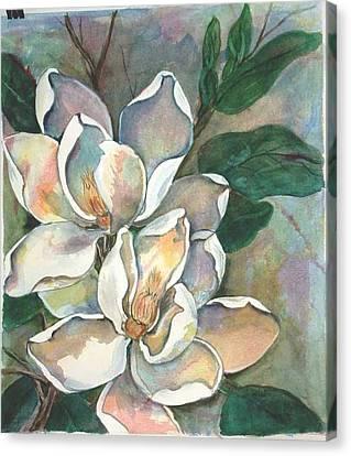 Magnolia Four Canvas Print