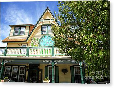 Canvas Print featuring the photograph Magnolia House by John Rizzuto