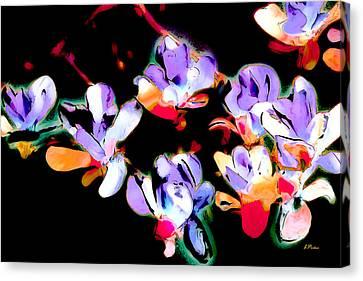 Magnolia Impressions Canvas Print by Linda  Parker