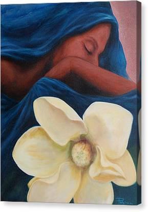 Magnolia Canvas Print by Patricia Ann Dees