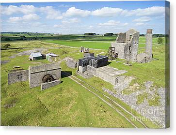Magpie Mine 2 Canvas Print by Steev Stamford