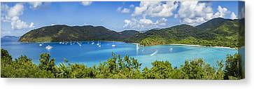 Canvas Print featuring the photograph Maho And Francis Bays On St. John, Usvi by Adam Romanowicz