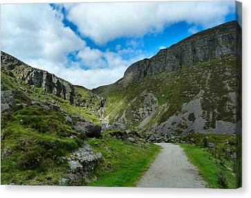 Mahon Falls Co Waterford Ireland. Canvas Print