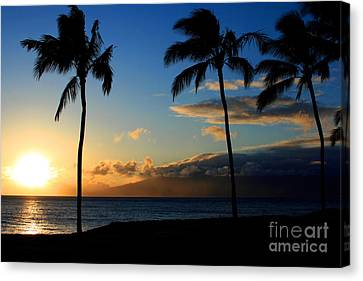 Mai Ka Aina Mai Ke Kai Kaanapali Maui Hawaii Canvas Print by Sharon Mau