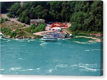 Maid Of The Mist Canvas Print by Kathleen Struckle