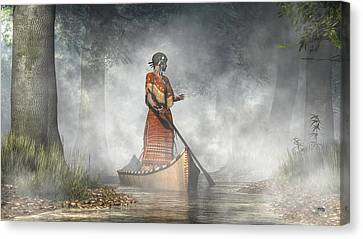 Maid Of The Mists Canvas Print by Daniel Eskridge