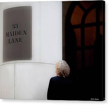 Maiden Canvas Print