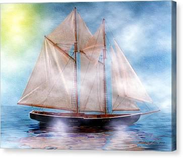 Maiden Of The Mist Canvas Print