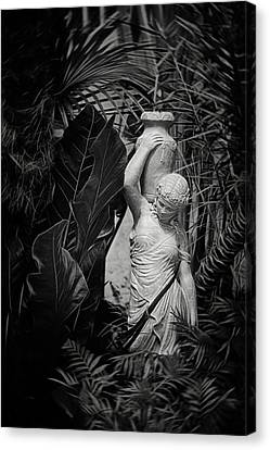 Franklin Park Canvas Print - Maiden Water Bearer by Tom Mc Nemar