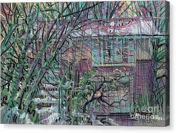 Maier House Canvas Print by Donald Maier