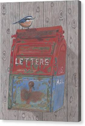 Mail Call Canvas Print by Arlene Crafton