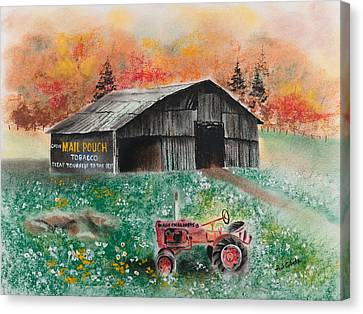 Mail Pouch Barn West Virginia 3 Canvas Print by Paul Cubeta