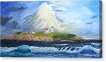 Main Lighthouse Canvas Print