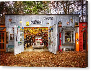 Main Street Garage Canvas Print