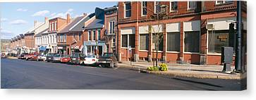 Main Street In Belfast, Maine Canvas Print by Panoramic Images