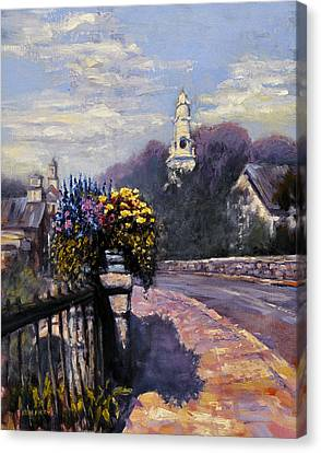 Main Streets Welcome Canvas Print
